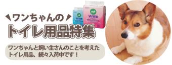 ワンちゃんのトイレ用品特集